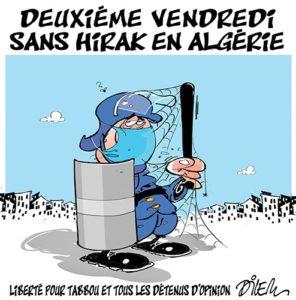 Δεύτερη Παρασκευή χωρίς το hirak στην Αλγερία Ελευθερία για τον Ταμπού και τους άλλους κρατούμενους γνώμης