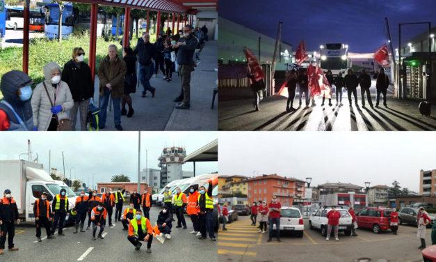 Ιταλία: Δεν είμαστε αρνιά προς σφαγή. Η ταξική πάλη στον καιρό του κορωνοϊού.