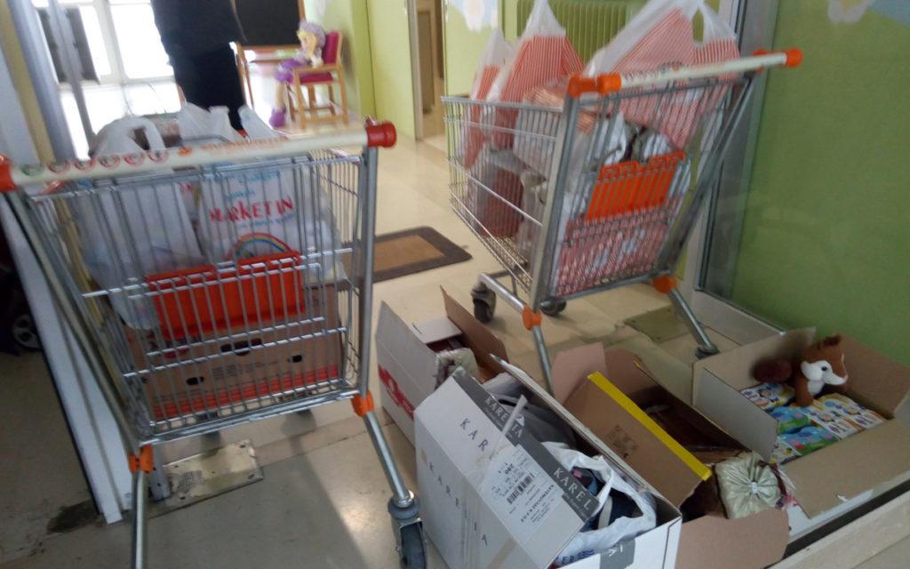 Ρουβίκωνας: Παράδοση τροφίμων στο Πρότυπο Εθνικό Νηπιοτροφείο