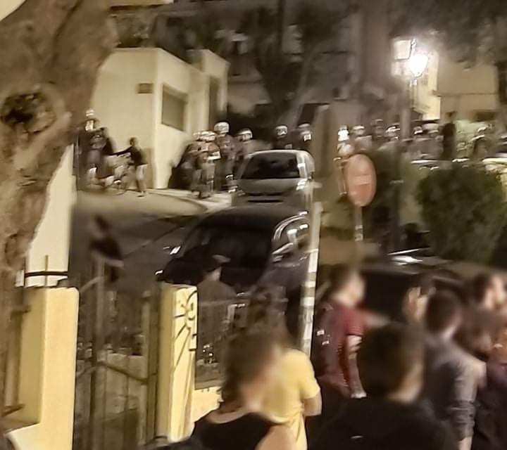 Επίθεση των ΜΑΤ στην πλατεία Καλλιθέας στην Άνω Πόλη Θεσσαλονίκης κι οι προεκτάσεις της (ΦΩΤΟ + VIDEO)