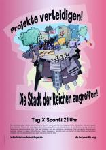 Βερολίνο: Επίθεση στην πόλη των πλουσίων – υπερασπιστείτε τις κινηματικές υποδομές