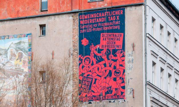 """Αμβούργο – Μαζικές δίκες για την αντίσταση στους G20: 86 κατηγορίες – Τελευταίες ειδήσεις σχετικά με τις δίκες """"Rondenbarg"""" – Πρόσκληση για αποκεντρωμένες ενέργειες την Ημέρα X"""