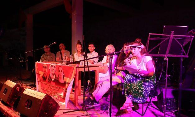 Ανακοίνωση για τη συναυλία μνήμης και αντίστασης με το Grup Yorum, στο Σκοπευτήριο Καισαριανής, στις 21 του Ιούλη