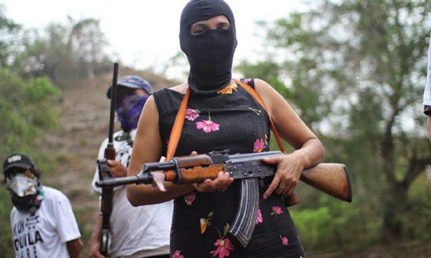 Μεξικό.Michoacan.Δήλωση από την ιθαγενή κοινότητα τηςSanta Maria Ostulaέντεκα χρόνια μετά την ανάκτηση των κοινοτικών της εδαφών.