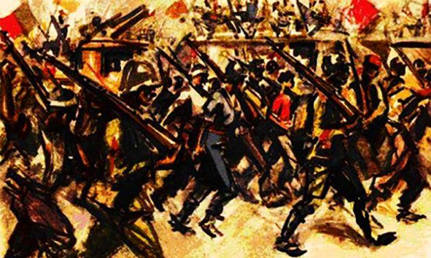 Η Βαρκελώνη στις φλόγες, του Abel Paz