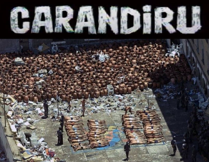 Η σφαγή στις φυλακές Καραντιρού στη Βραζιλία