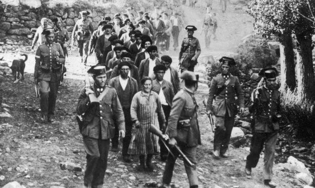 H εξέγερση των ανθρακωρύχων στις Αστούριες της Ισπανίας (1934)