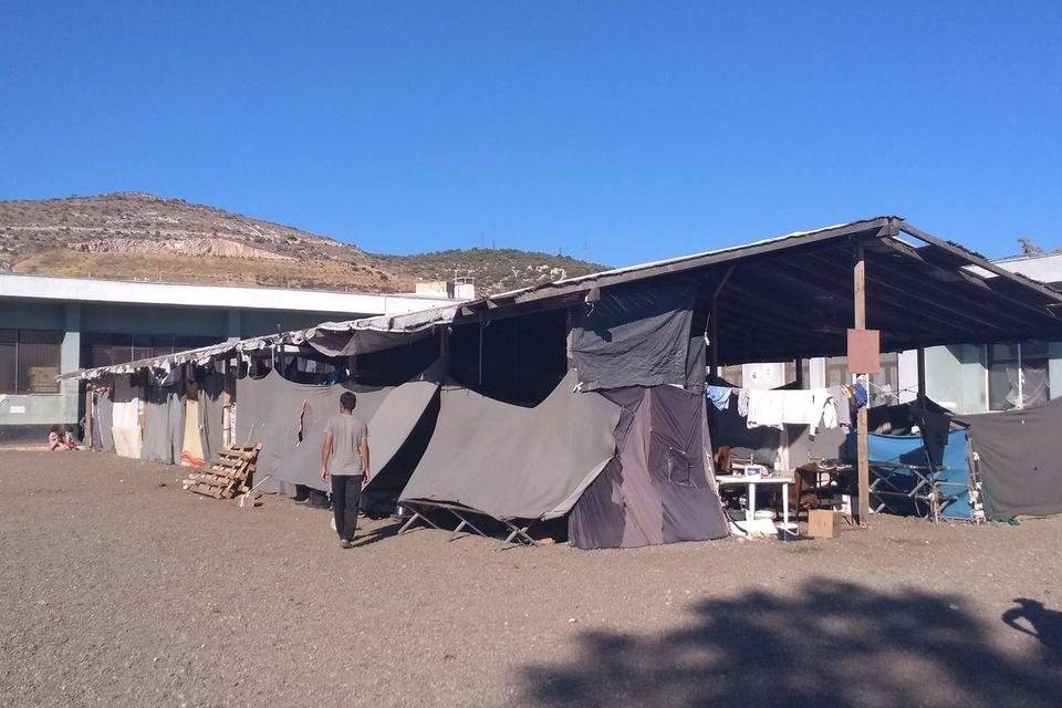 Ανταποκρίσεις από τα camps Σκαραμαγκά και Σχιστού