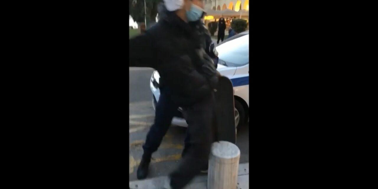 Αστυνομική αυθαιρεσία ενάντια σε σκεϊτάδες στη Θεσσαλονίκη