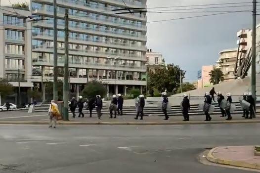 Πλατεία Καραισκάκη, αύρες και χημικά