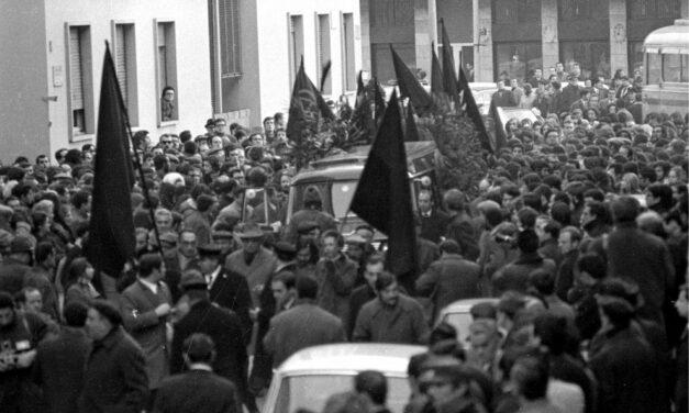 Βίντεο από την κηδεία του ιταλού αναρχικου Πίνο Πινέλλι που δολοφονείται σαν σήμερα από την αστυνομία