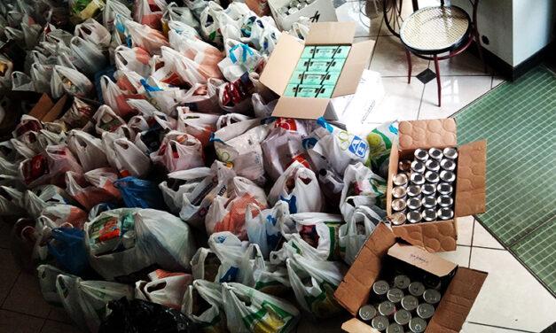 Ρουβίκωνας: Παράδοση τροφίμων για τις οικογένειες των 95ου Νηπιαγωγείου, 35ου Δημοτικού, 36oυ Δημοτικού, 40ού Δημοτικού Αθηνών