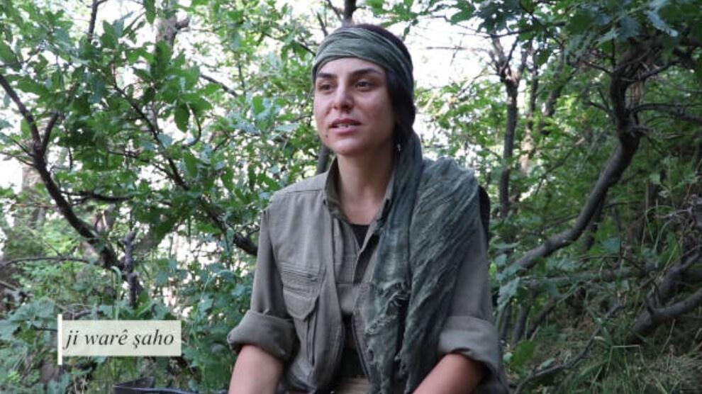 Η απόφαση της αντάρτισσας Roza Amara, να πάρει μέρος στο Κουρδικό Κίνημα Ελευθερίας