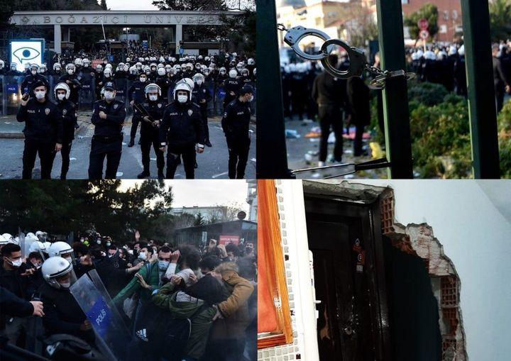 Ανακοίνωση της Επαναστατικής Αναρχικής Δράσης (DAF) για τις φοιτητικές κινητοποιήσεις και την κρατική καταστολή στην Τουρκία.
