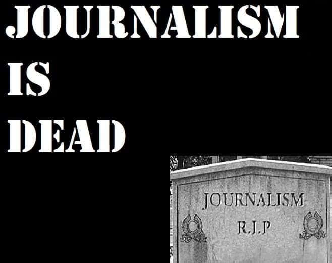 Ο απαραίτητος θάνατος της δημοσιογραφίας