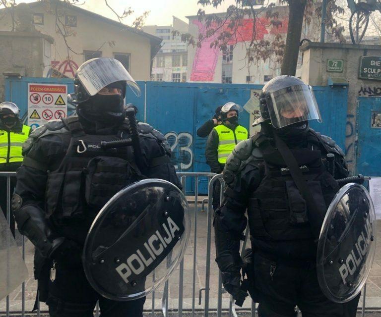 Εκκένωση της κατάληψης ROG στη Λιουμπλιάνα