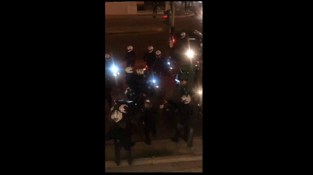 Εκτός ελέγχου η αστυνομία και ο Μητσοτάκης με το διάγγελμα, τους όπλισε το χέρι (Νέα Σμύρνη)