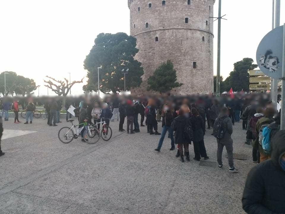Θεσσαλονίκη   Συγκέντρωση στον Λευκό Πύργο σε ένδειξη αλληλεγγύης στον Δ. Κουφοντίνα. Αυτή την ώρα πραγματοποιείται συγκέντρωση.