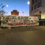 Μην καρτεράτε να λυγίσουμε μήτε για μια στιγμή. Μαζική διαδήλωση αλληλεγγύης στον απεργό πείνας Δ. Κουφοντίνα στη Θεσσαλονίκη [2/3/2021]