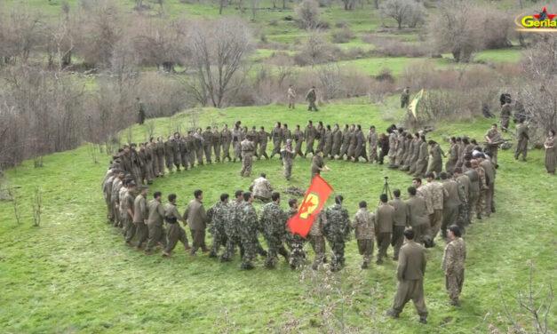 Πλάνα από αντάρτικη ενέργεια σε τουρκικό φυλάκιο στο Şemdinli