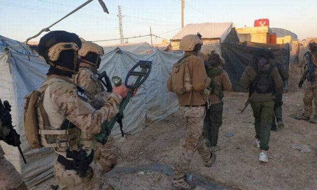 Σύλληψη 158 μισθοφόρων του ISIS στο Hol Camp έπειτα από επιχείρηση