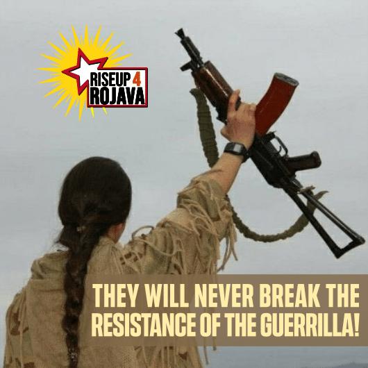 Κάλεσμα για δράση ενάντια στις επιθέσεις στις περιοχές άμυνας του Medya | RiseUp4Rojava