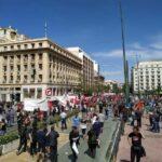 Αθήνα | Ανταπόκριση από την απεργιακή διαδήλωση της Πρωτομαγιάς