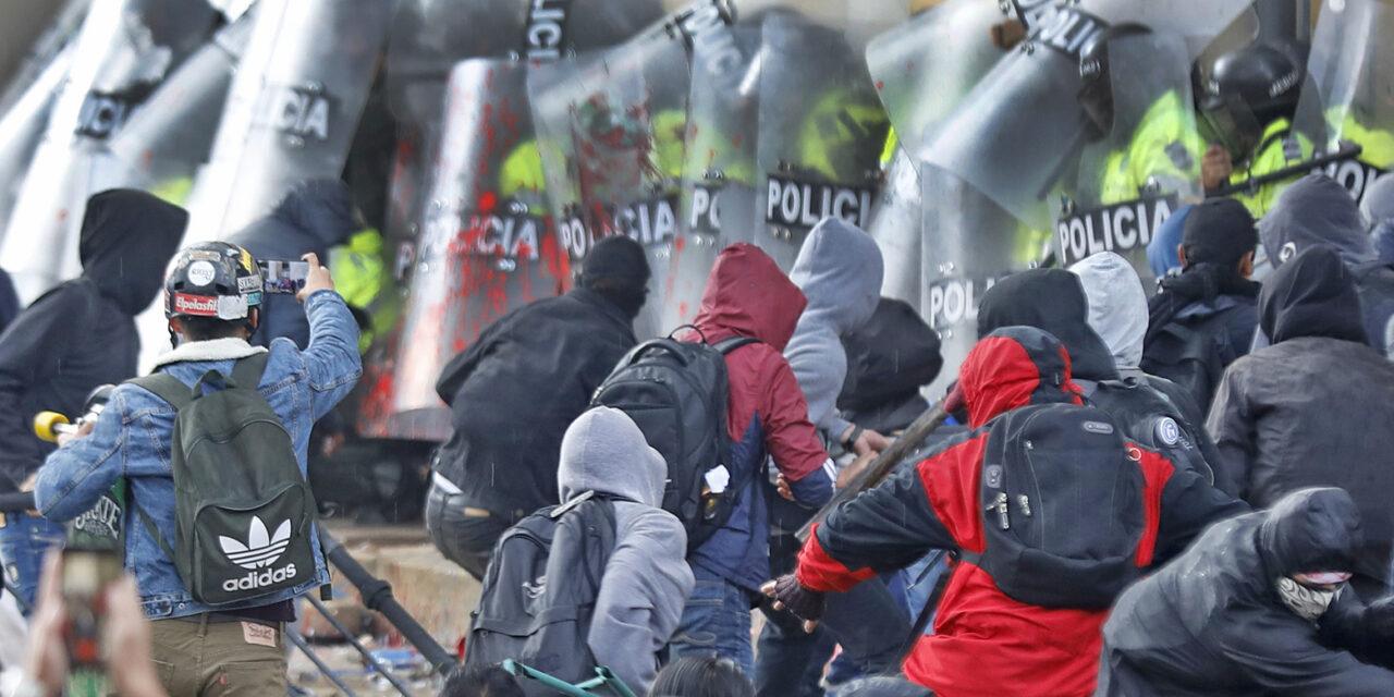 DUQUE ΚΑΘΑΡΜΑ:  για την εξέγερση στην Κολομβία
