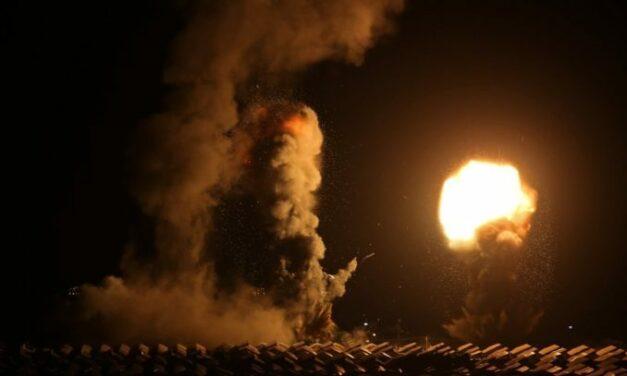 Νέα αεροπορική επίθεση από το κράτος του Ισραήλ στη λωρίδα της Γάζας
