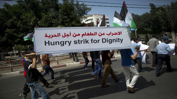 1.400 Παλαιστίνιοι κρατούμενοι θα πραγματοποιήσουν απεργία πείνας