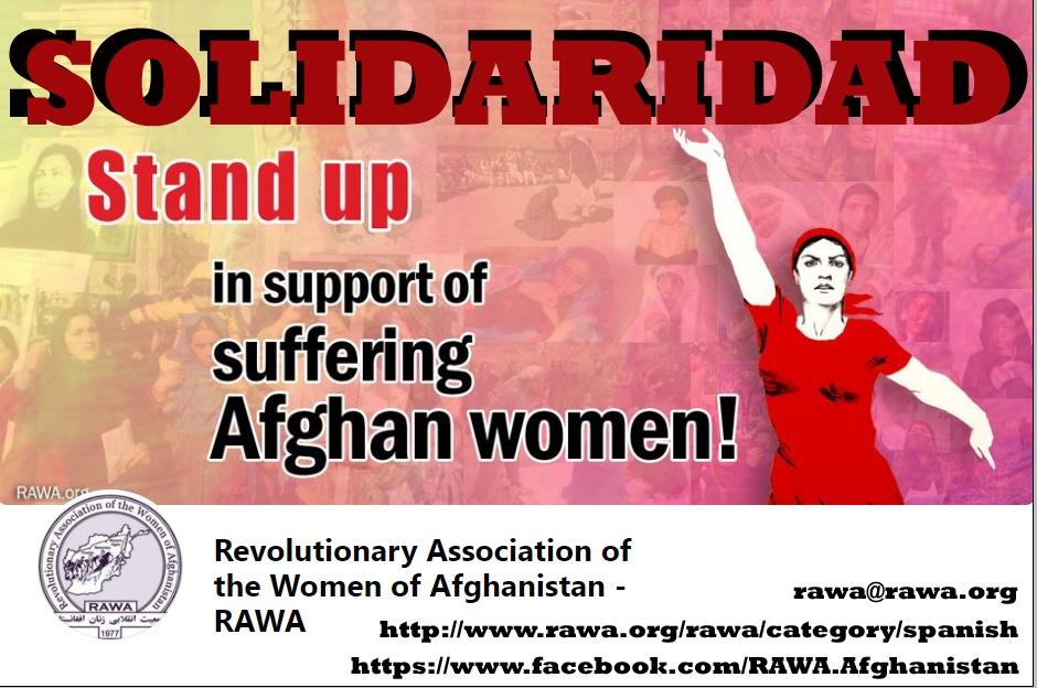 Συνέντευξη με την Επαναστατική Ένωση Γυναικών του Αφγανιστάν