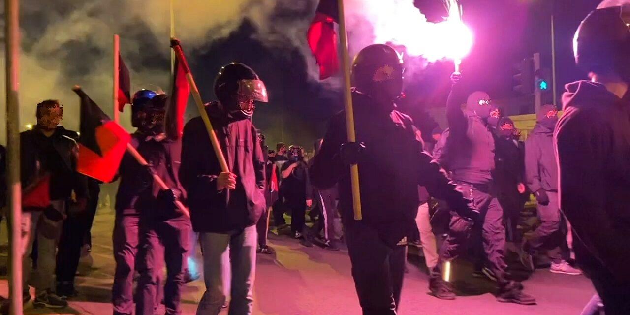 [Video] Θεσσαλονίκη: Το κάλεσμα του «Ιερού Λόχου» κατάφερε να μαζέψει 50 φασίστες και… 1.500 αντιφασίστες