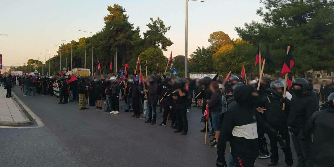 Θεσσαλονίκη | Ενημέρωση από τη χθεσινή αντιφασιστική πορεία και την αστυνομική καταστολή που υπέστη (vid & photos)
