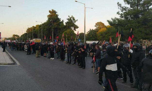 Θεσσαλονίκη   Ενημέρωση από τη χθεσινή αντιφασιστική πορεία και την αστυνομική καταστολή που υπέστη (vid & photos)