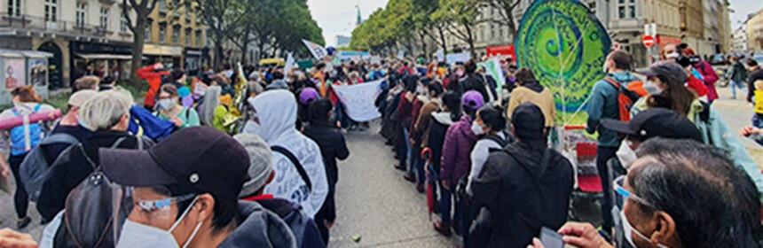 Ο λόγος των Ζαπατιστικών Κοινοτήτων στη διαδήλωση ενάντια στην καταστροφή της φύσης