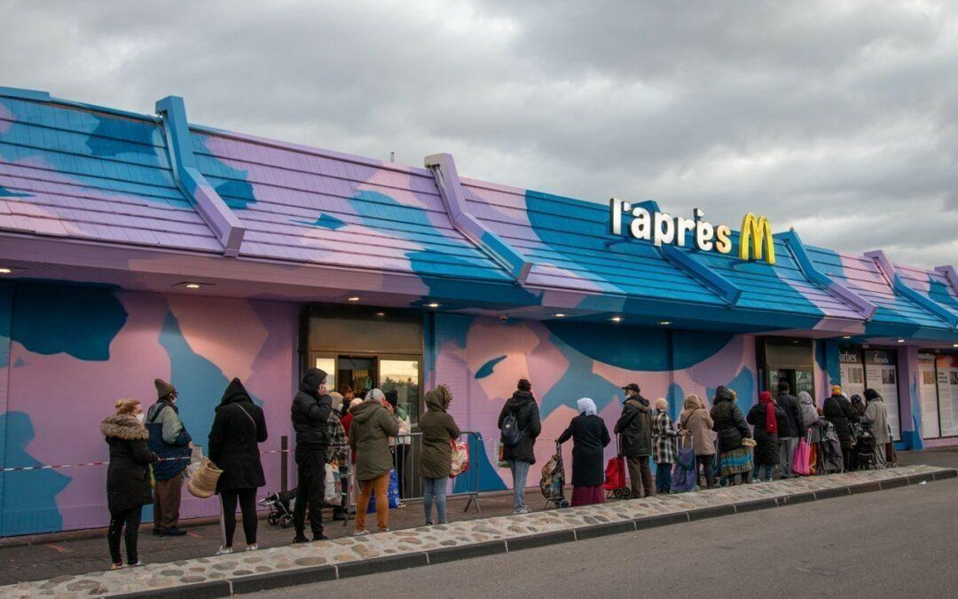 L'Après M: Τα κατειλημμένα πρώην McDonald's της Μασσαλίας